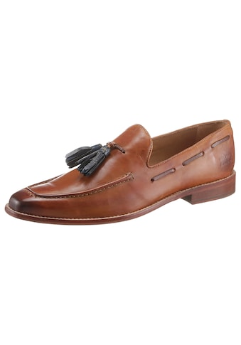 Melvin & Hamilton Slipper »Tassel Loafer Leonardo vegetabil gegerbt«, handgemacht mit Lederlaufsohle kaufen