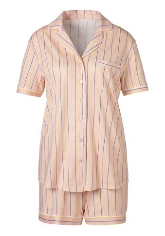 s.Oliver Bodywear Shorty, mit Knopfleiste und Brusttasche kaufen