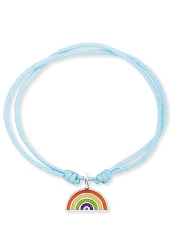 Herzengel Armband »Regenbogen, HEB-RAINBOW«, mit Emaille kaufen
