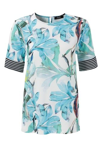 Aniston SELECTED Shirtbluse, mit gestreiften Einsätzen kaufen