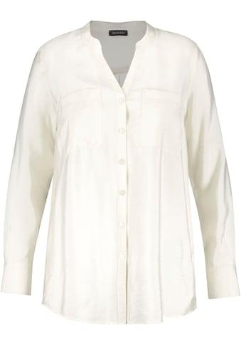 Samoon Langarmbluse, mit aufgesetzter Brusttaschen kaufen