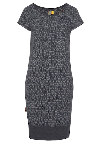 Alife & Kickin Jerseykleid »CocoAK«, (2 tlg., mit abnehmbarem Gürtel), bedrucktes Sommerkleid mit kleinem Knopfdetail kaufen