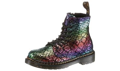 DR. MARTENS Schnürstiefel »8 Eye Boot Pascal Rainbow Metallic« kaufen