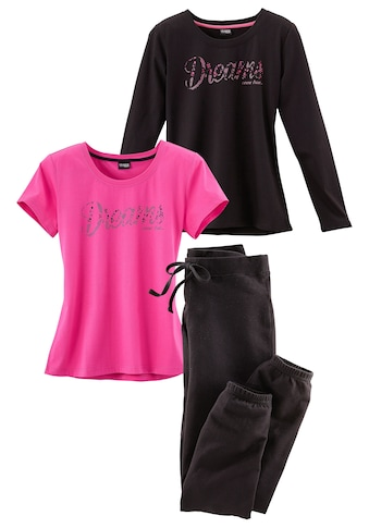 Vivance Dreams Pyjama (Set, 3 - tlg.) kaufen