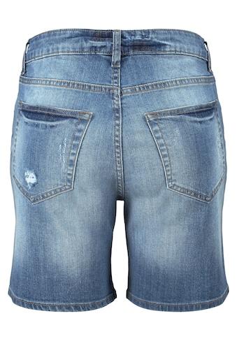 Buffalo Jeansbermudas, mit Destroyed-Effekten kaufen