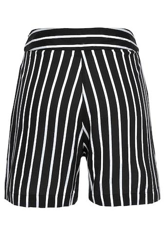 Aniston CASUAL Shorts, mit Streifen oder Tropical Print kaufen
