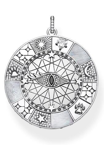 THOMAS SABO Kettenanhänger »Amulett mystische Symbole, PE854 - 642 - 18« kaufen