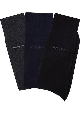 Boss Socken »3P RS Uni«, (3 Paar) kaufen