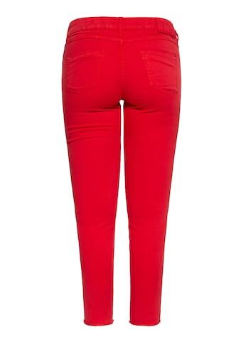 ATT Jeans 5-Pocket-Jeans »Leoni«, mit offenen Kanten kaufen