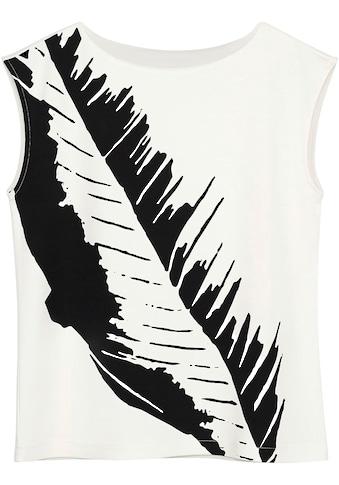 someday Print-Shirt »Karnila Print«, mit großem Blätter-Print auf der Vorderseite kaufen