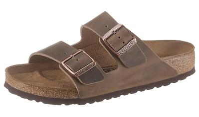 Birkenstock Pantolette »ARIZONA OILED«, aus gefettetem Leder kaufen