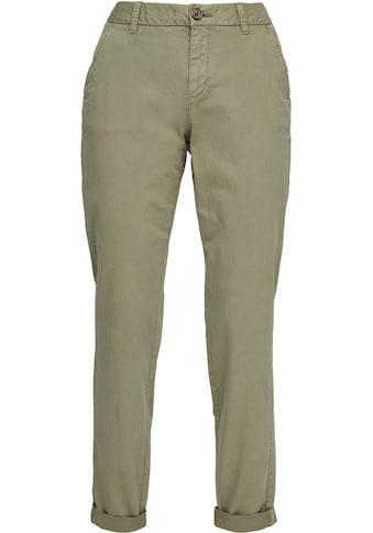 s.Oliver Chinohose, mit individuell krempelbarem Beinabschluss kaufen