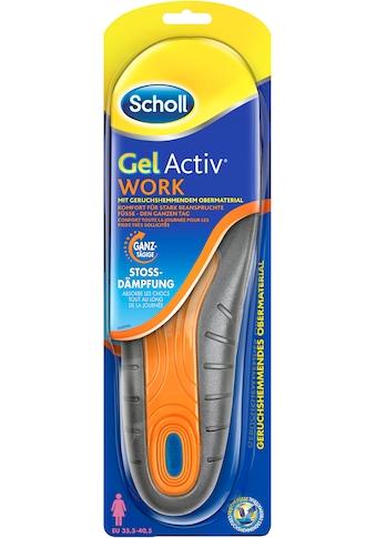 Scholl Gelsohlen »GelActiv Work«, für Frauen, passend für Schuhgrößen 35,5 bis 40,5 kaufen