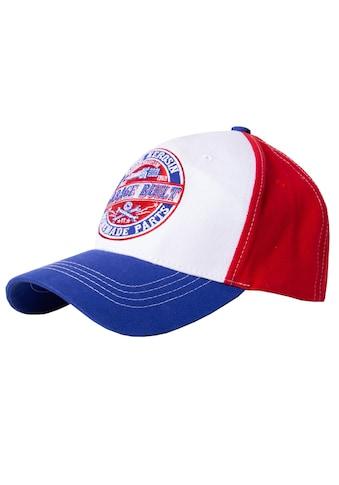 KingKerosin Baseball Cap »Garage Built«, in Colour-Blocking Optik kaufen