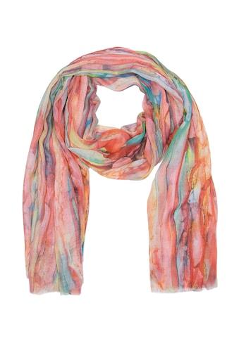 CASSANDRA Schal mit leichtem Tragegefühl »Farbfreude« kaufen