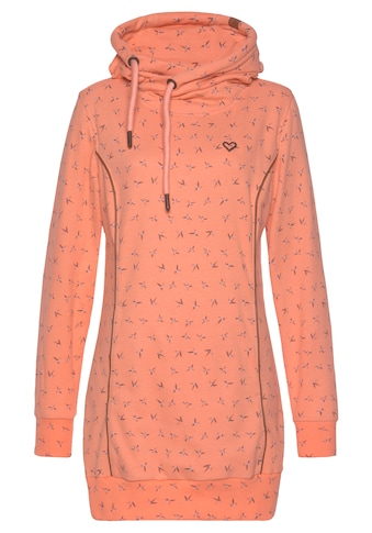 Alife & Kickin Sweatshirt »JilAK«, kuscheliger Longsweater mit Kapuze& Seitentaschen kaufen