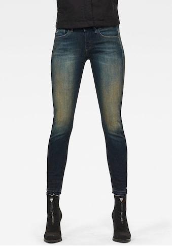 G - Star RAW Skinny - fit - Jeans »Lynn Mid Skinny rp Ankle« kaufen