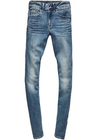 G-Star RAW Skinny-fit-Jeans »Midge Zip Mid Skinny«, mit Reißverschluss-Taschen hinten kaufen