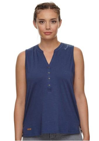 Ragwear Shirttop »RONA«, Softer Materialmix mit dezenter Knopfleiste kaufen
