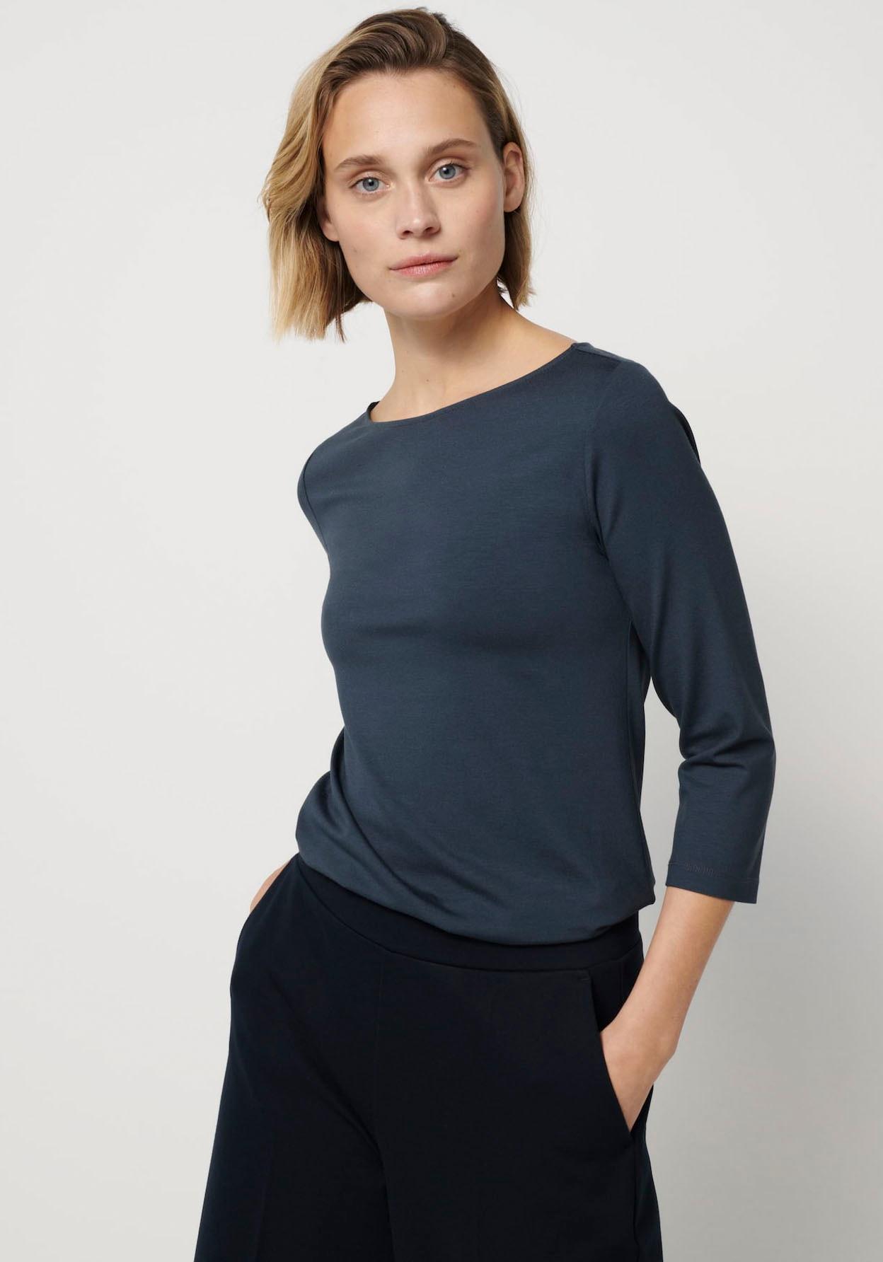 someday -  3/4-Arm-Shirt, mit formendem Materialeinsatz