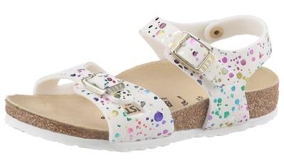 Birkenstock Sandale »Rio Inspired Confetti«, mit verstellbaren Schnallen, schmale Schuhweite kaufen