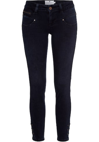 Freeman T. Porter Slim-fit-Jeans, mit Zierreißverschlüssen kaufen