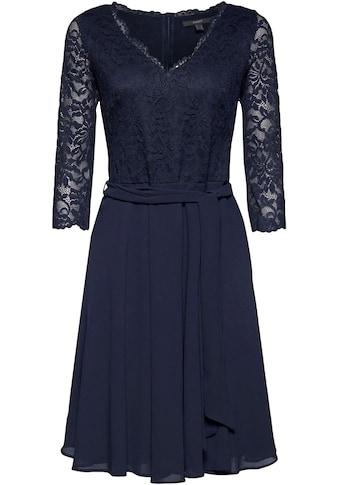 Esprit Collection Chiffonkleid, Bindegürtel kaufen