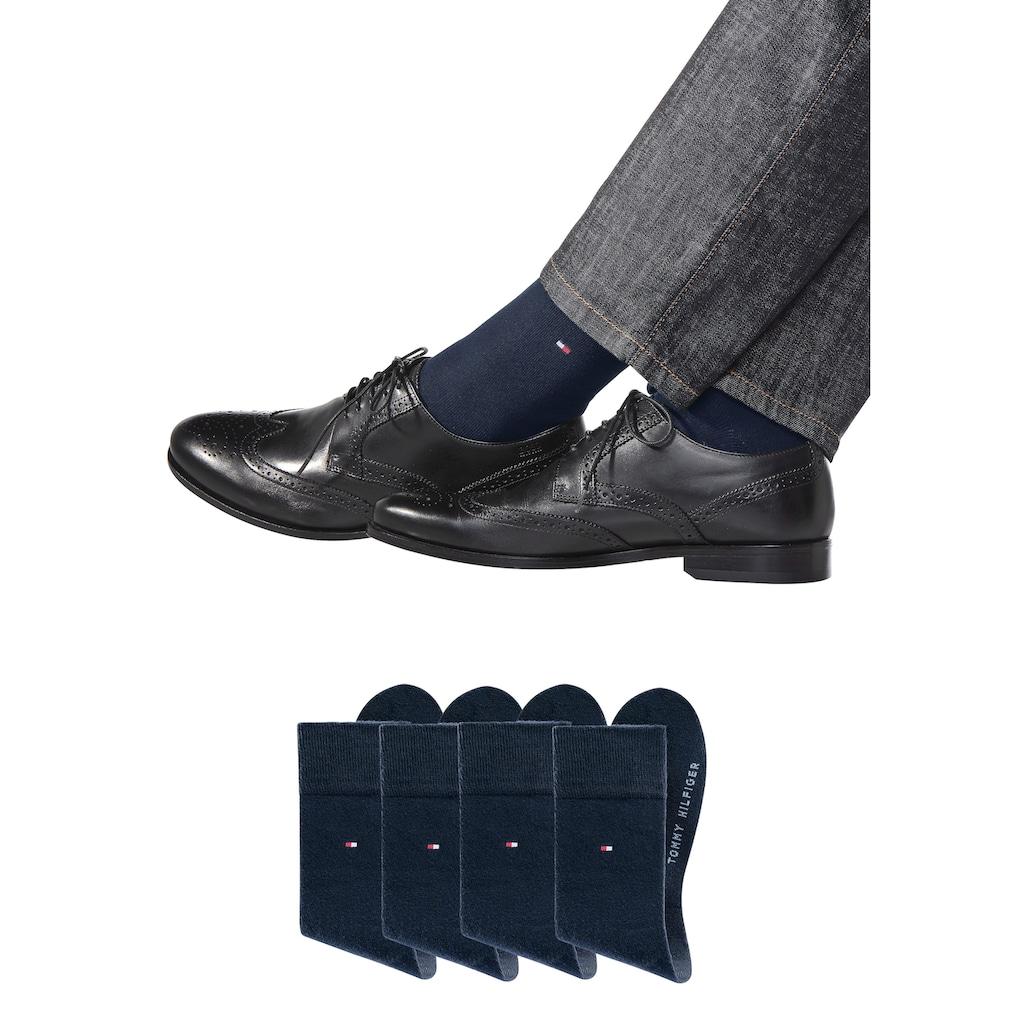 TOMMY HILFIGER Businesssocken (4 Paar)