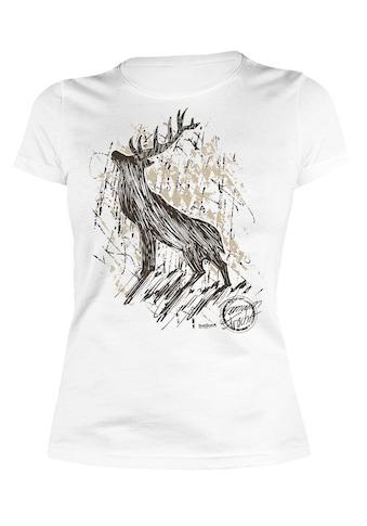 Der Trachtler T-Shirt mit detailliertem Print kaufen