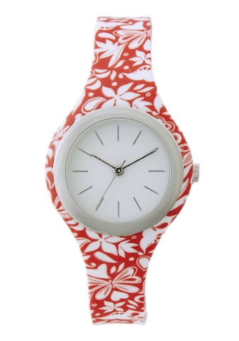 Armbanduhr mit Blumendesign kaufen