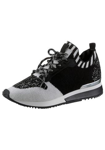 La Strada Slip-On Sneaker, mit Metallic-Applikation am Absatz kaufen