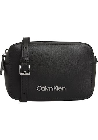 Calvin Klein Mini Bag »CK MUST CAMERA BAG MD«, mit goldfarbenen Details kaufen