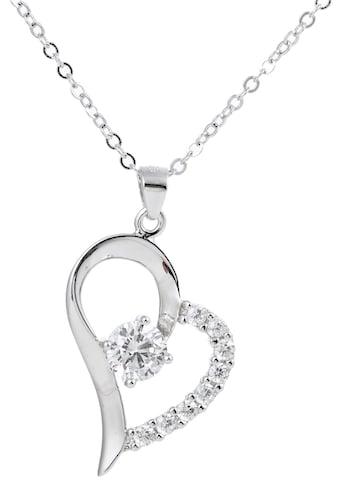 Firetti Kette mit Anhänger »Herz, Liebe, Romantik« kaufen