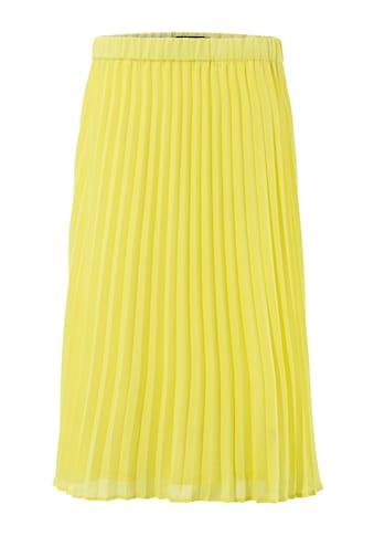 Aniston CASUAL Plisseerock, in trendiger Farbpalette kaufen