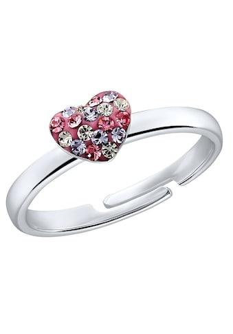 Prinzessin Lillifee Silberring »Herz 2031168«, mit Preciosa Crystal kaufen