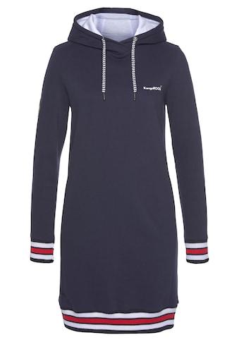 KangaROOS Sweatkleid, mit sportlichen Kontrastdetails kaufen
