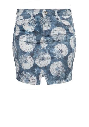 ATT Jeans Jeansrock »Megan«, mit floralem Aquarell-Muster kaufen