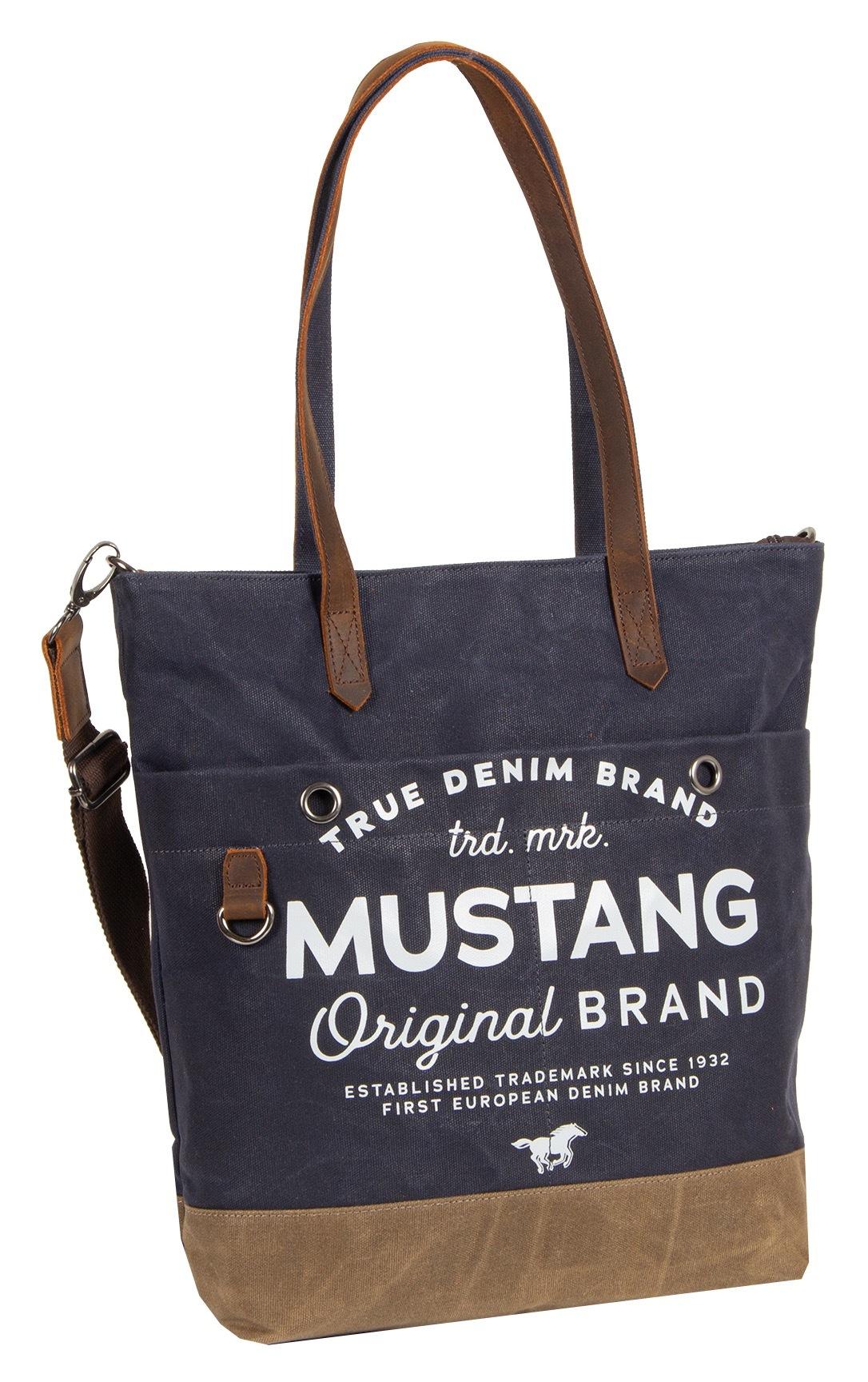 mustang -  Shopper Genua, mit modischem Logoaufdruck