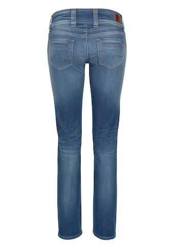 Pepe Jeans Cordhose »GEN«, in weicher Cord-Qualtät mit geradem Bein und Doppel-Knopf-Bund kaufen