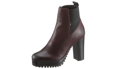 TOMMY JEANS High - Heel - Stiefelette »ESSENTIAL CLEATED HEELED BOOT« kaufen
