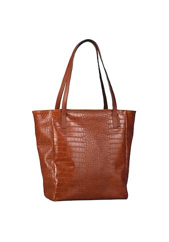 TOM TAILOR Denim Shopper »Arona Croc« kaufen
