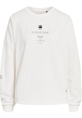 G-Star RAW Sweatshirt »Multi GR Relaxed Sweatshirt«, mit Grafikprints vorne, hinten und an den Ärmeln kaufen