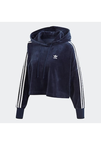 adidas Originals Hoodie »VELOUR CROPPED« kaufen