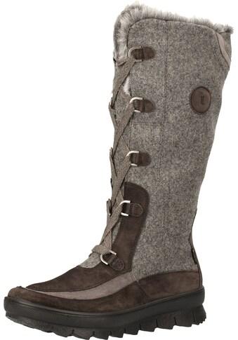 Legero Schnürstiefel »Veloursleder/Textil« kaufen