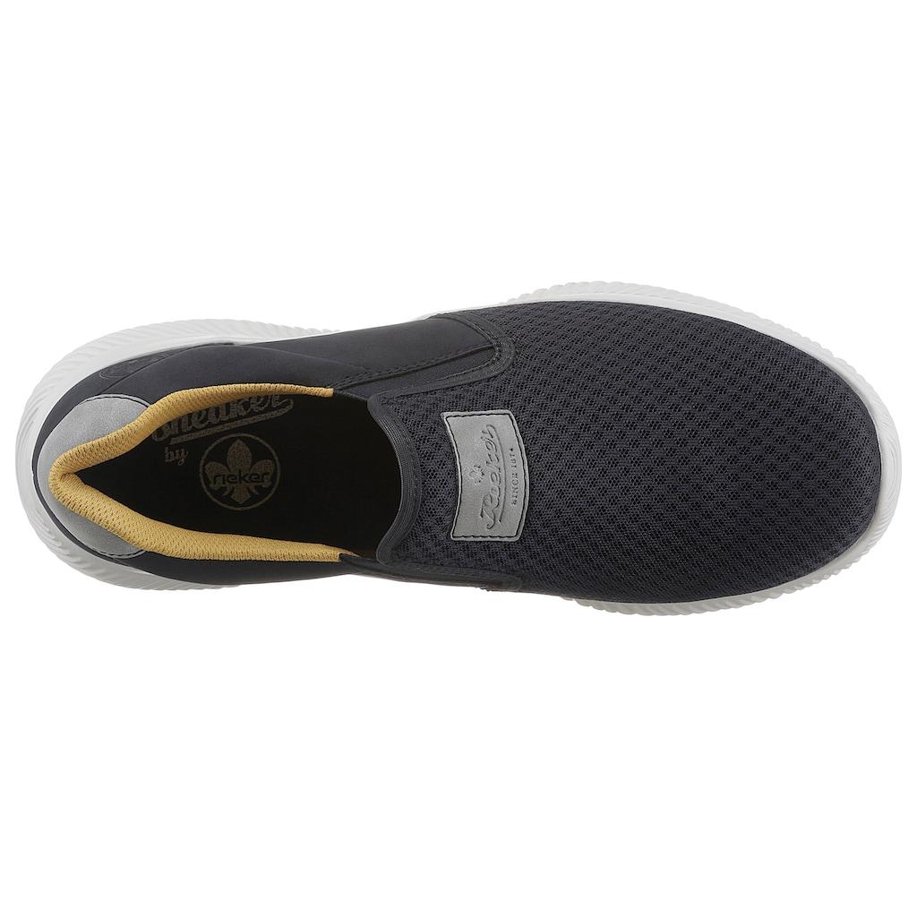 Rieker Slip-On Sneaker, mit sportiver Laufsohle