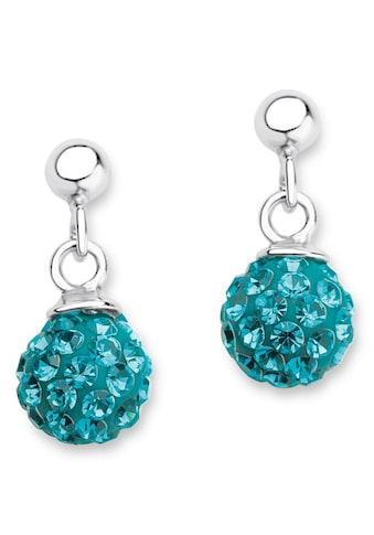 Amor Paar Ohrstecker »2021269«, mit Kristallglassteinen kaufen