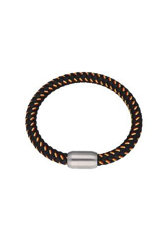 Jacques Charrel Armband »schwarz, geflochten, in Deutschland-Optik mit Magnetverschluß« kaufen
