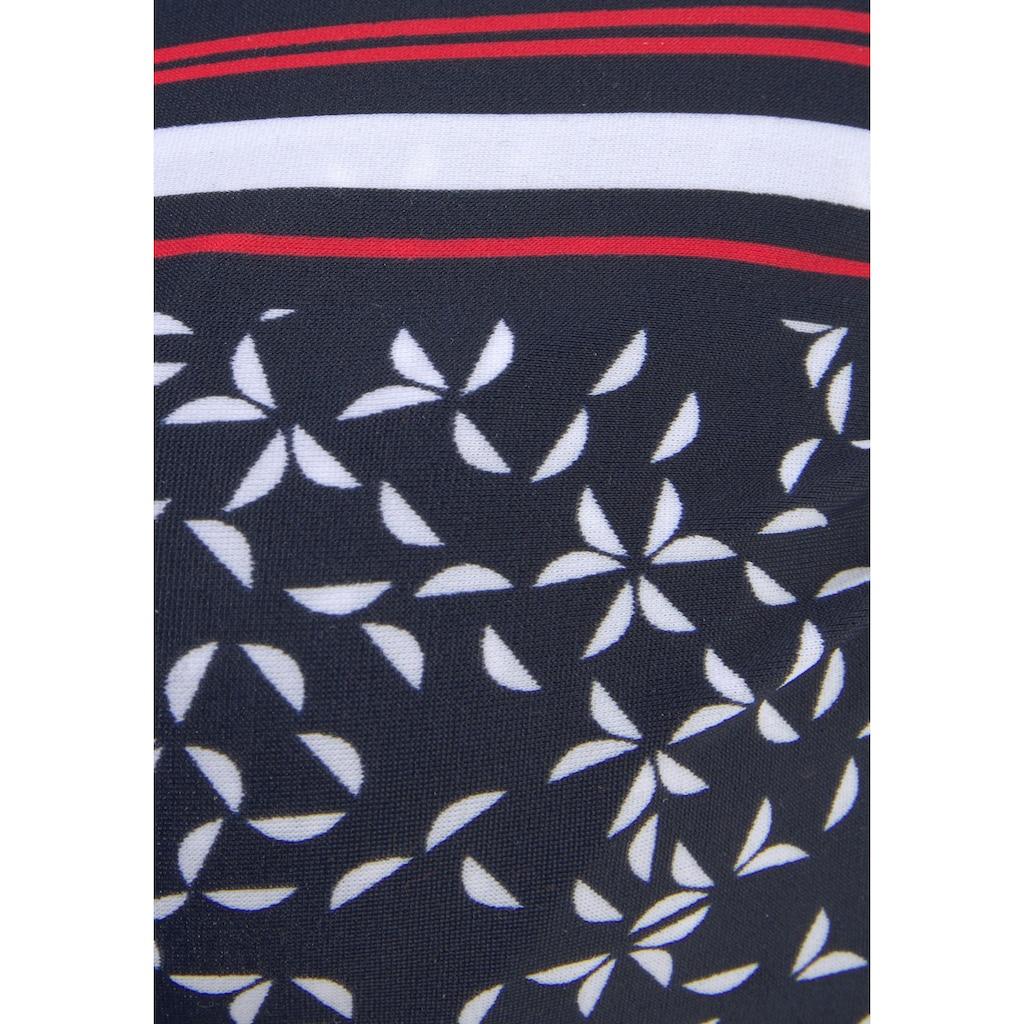 LASCANA Bügel-Tankini-Top »Minimal«, in bauchbedeckender Form