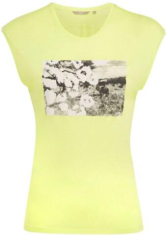 Mexx Rundhalsshirt, mit Grafik-Druck auf der Brust kaufen