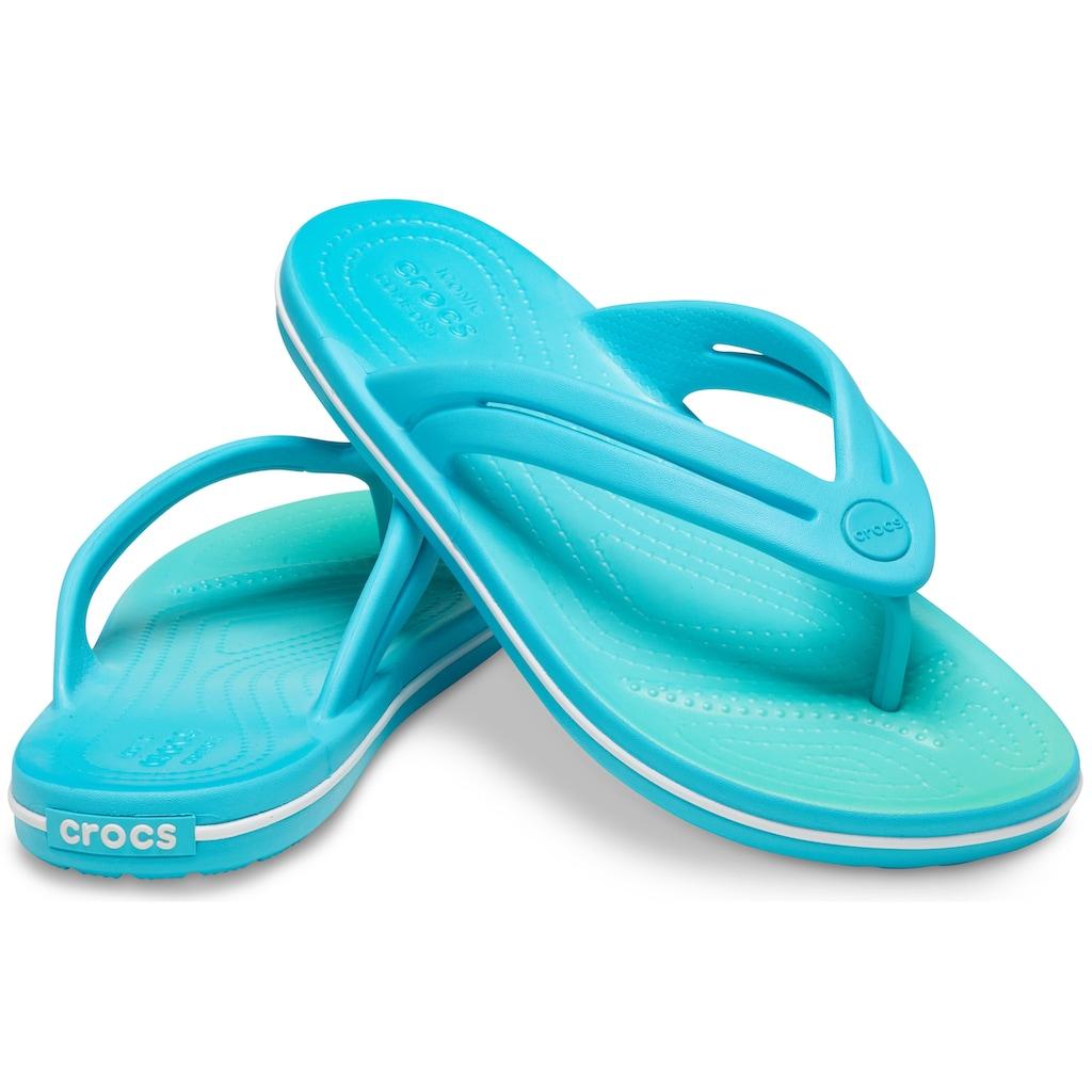 Crocs Zehentrenner »Crocband Ombre Flip W«, mit Farbverlauf